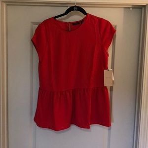 NWT Halogen Peplum Top